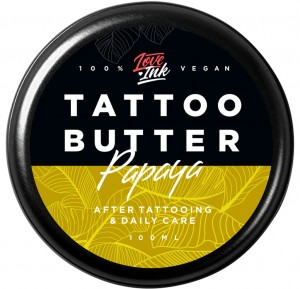 Krem do Tatuażu Papaya - Tattoo Butter Papaya 100ml